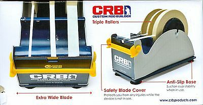 Crb Three Roll Tape Dispenser For Fishing Rod Building