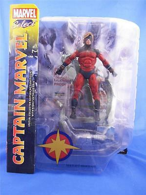 """New *Captain Marvel* Diamond Marvel Select Toys 7"""" Special Edition Action Figure"""