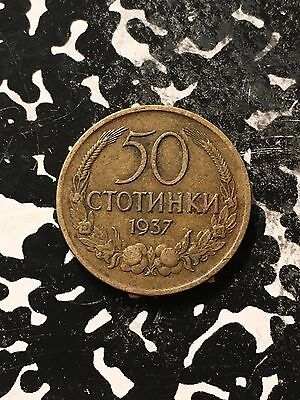 1937 Bulgaria 50 Stotinki Lot#1389