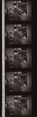 Laurel and Hardy County Hospital 35mm Film Cell strip very Rare hh64