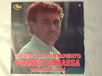 "FRANCO CAMASSA Il primo appuntamento 7"" RARISSIMO COME NUOVO VERY RARE LIKE NEW!"