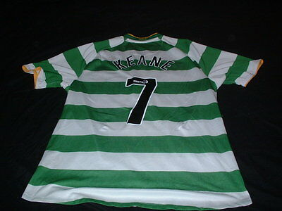 Celtic Football XL Extra Large Robbie Keane 7 Player Issue Republic of Ireland