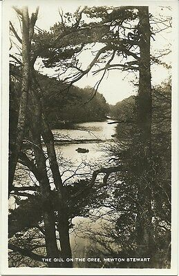 Newton Stewart The Gill On The Cree C1930 Real Photo Postcard
