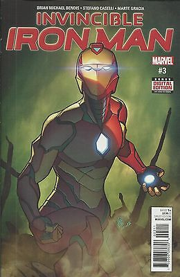 Marvel The Invincible Ironman comic issue 3