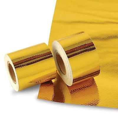New Hi-Performance Racing Exhaust Gold Heat Reflective Tape 1.5 In. X 15 Ft