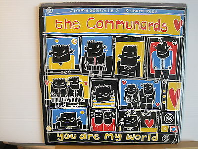 "The Communards-You Are My World c/w Judgement Day-12"" Vinyl- Free UK Post"