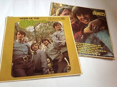 2 Original Vinyl Albums 1966 The Monkees and More Of The Monkees 1967 vinyl