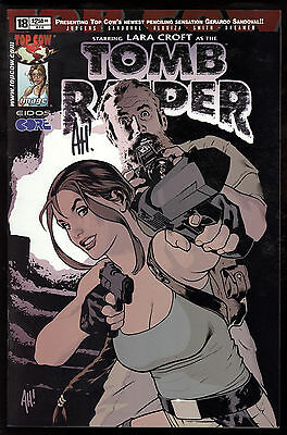 Tomb Raider: The Series (2000) #18 First Printing Signed by Adam Hughes VF/NM