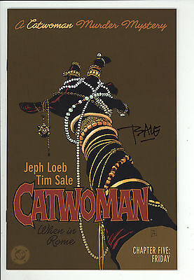 Catwoman: When in Rome (2004) #5 Signed by Tim Sale no COA First Print NM-