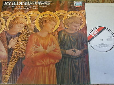 EMX 2104 Byrd Masses for Four & Five Voices / Guest / St. John's
