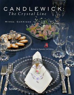 Candlewick Crystal Collector Guide 3rd Ed Imperial Glass incl Serving Pcs