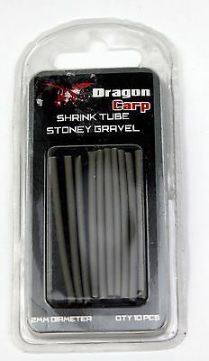 Dragon Carp Fishing Shrink Tube Tubing for Rigs Stoney Gravel  2mm   AN