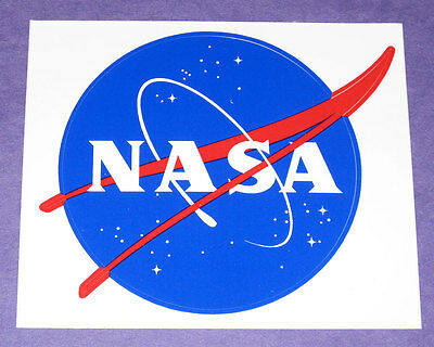 NASA Space Administration Sticker