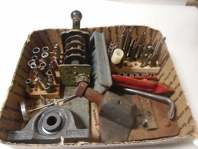 MACHINIST TOOLS LATHE MILL Machinist Lot Tooling Bearings Parts Etc