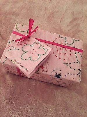 Bomb Cosmetics Pretty In Pink Gift Pack - Smells Lush - Gift Set NEW Valentines
