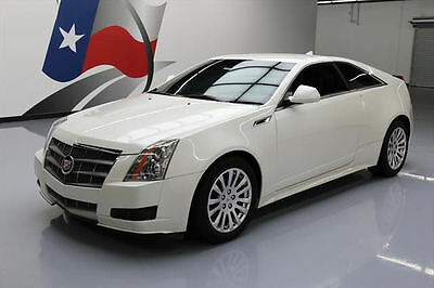 2011 Cadillac CTS Base Coupe 2-Door 2011 CADILLAC CTS COUPE AUTO CRUISE CTRL ALLOYS 58K MI #138432 Texas Direct Auto