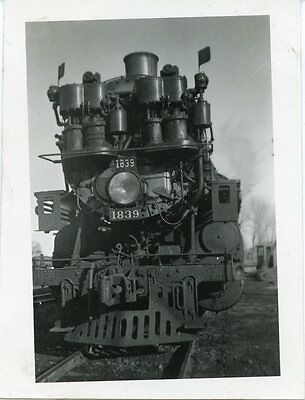 6E325 Rp 1935 Northern Pacific Railroad Engine #1839 Forsyth Mt