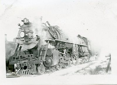 6E302 Rp 1936 Northern Pacific Railroad Engine #2655 Forsyth Mt