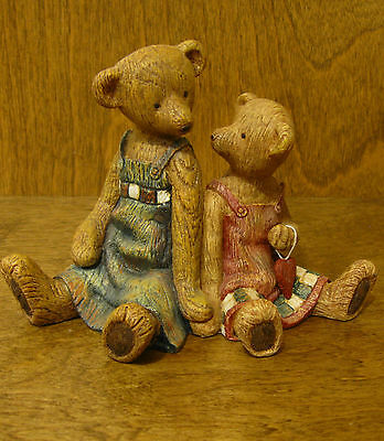 Boyds LIFE TIMES #370520 SISTERS of the HEART, folk art style From Retail Store