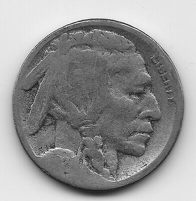 A Vintage Better Date 1924 S Buffalo Nickel Coin-Agt938