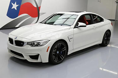 2015 BMW M4  2015 BMW M4 COUPE EXECUTIVE MDCT SUNROOF NAV HUD 18K MI #332520 Texas Direct