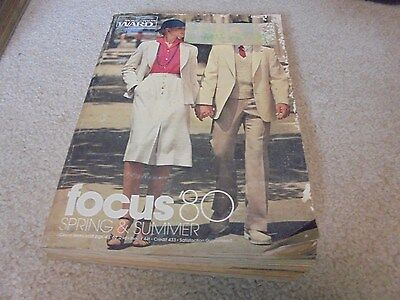 Vintage 1980 Montgomery Ward Spring and Summer Catalog  Charlie Angels Fashions