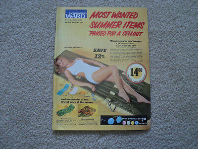 Vintage 1969 Montgomery Ward Spring Most Wanted Summer Items Catalog