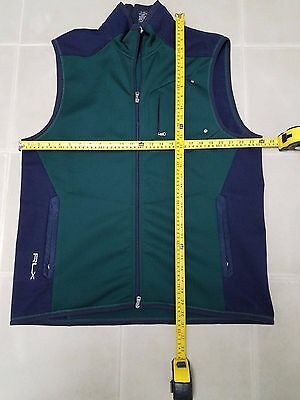 Polo RLX Ralph Lauren Men's Vest XXL 2XL Green Dark Blue Navy
