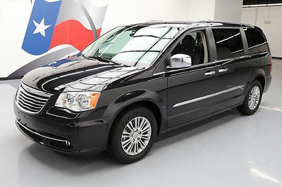 2014 Chrysler Town & Country  2014 CHRYSLER TOWN AND COUNTRY TOURING-L NAV DVD 39K MI #113363 Texas Direct