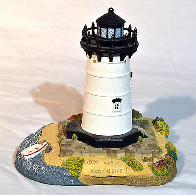 Edgartown MA Lighthouse Harbour Lights SE Mint in Box 1999