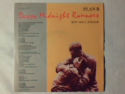 "DEXYS MIDNIGHT RUNNERS Plan b 7"" FRANCE RARISISMO VERY RARE!!!"