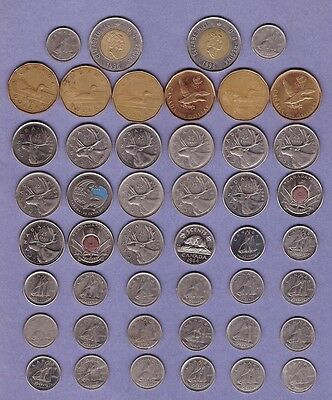 Canada - Mixed Coin & Note Collection Lot #A - World/Foreign/North America