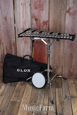 Ludwig Student 2.5 Octave Bell Kit with Tunable Practice Pad Stand and Gig Bag