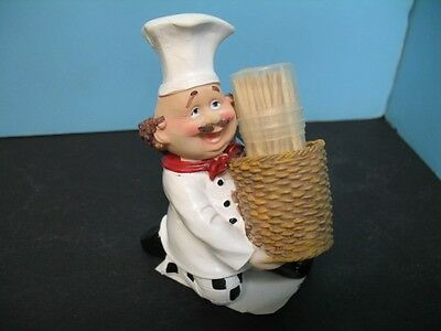 Chef Toothpick holder  bar .