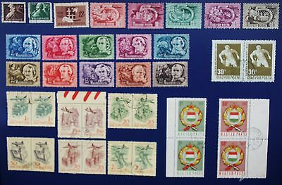 HUNGARY - 1946 -1960 Collection of  MH  & Used Stamps