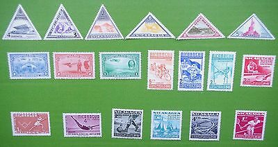 NICARAGUA - 1941-1950 Collection of MH Stamps