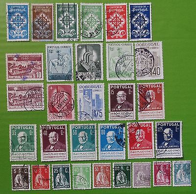 PORTUGAL - 1931-1940 Collection of  Used Stamps