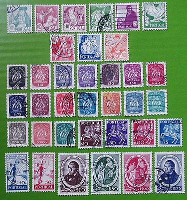 PORTUGAL - 1934-1940 Collection of  Used Stamps