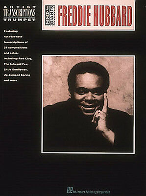 Freddie Hubbard for Trumpet Solo Jazz Sheet Music Artist Transcriptions Book NEW