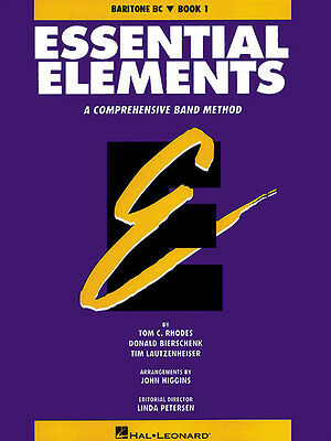 Essential Elements Book 1 Baritone B.C. Band Method Beginner Music Lessons NEW