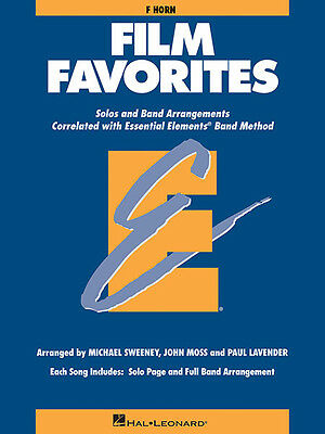 Film Favorites for F Horn Essential Elements Band Method Sheet Music Book NEW