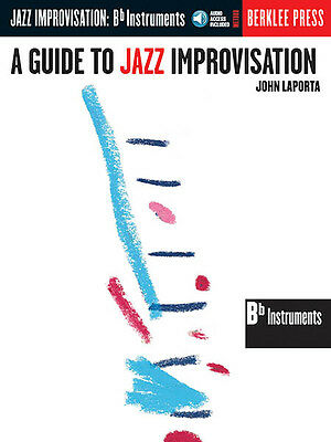 Guide to Jazz Improvisation Bb Instruments Music Lessons Berklee Book CD NEW