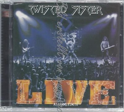 Cd--Twisted Sister--Live At Hammersmith | Doppel-Cd