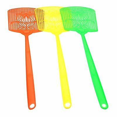 3 x Plastic Fly Swatter Bug Mosquito Insect Wasps Killer Catcher Swat