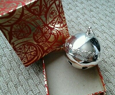 1977 Wallace Silver Plate Bell With Box