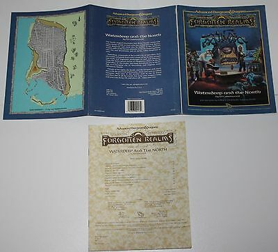 Advanced Dungeons & Dragons - Forgotten Realms Waterdeep and the North