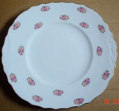 Pretty Royal Vale PANSIES Cake or Biscuit Plate