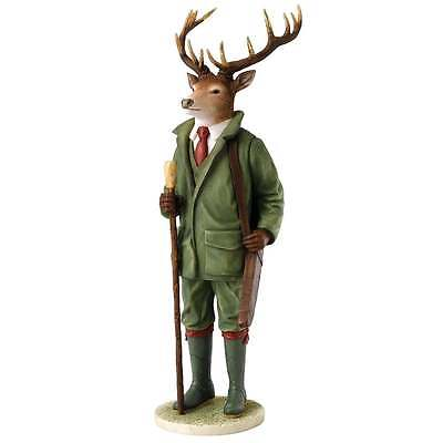 Border Fine Arts Henry Stags With Style Figurine New Boxed A27426