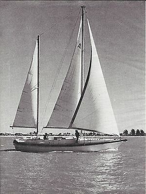 1977 Morgan Out Island 49 Yacht Review & Specs- Great Photos