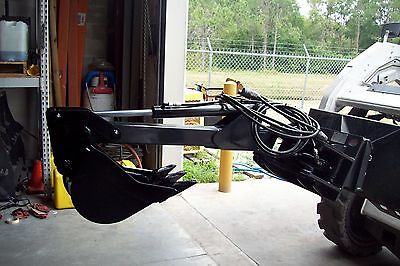 Boxer Prowler Mini Loader Backhoe w/Swing,Digs 5' Leftover Bradco,Never Used